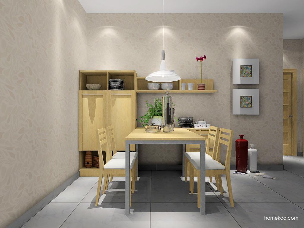 丹麦本色餐厅家具E1781