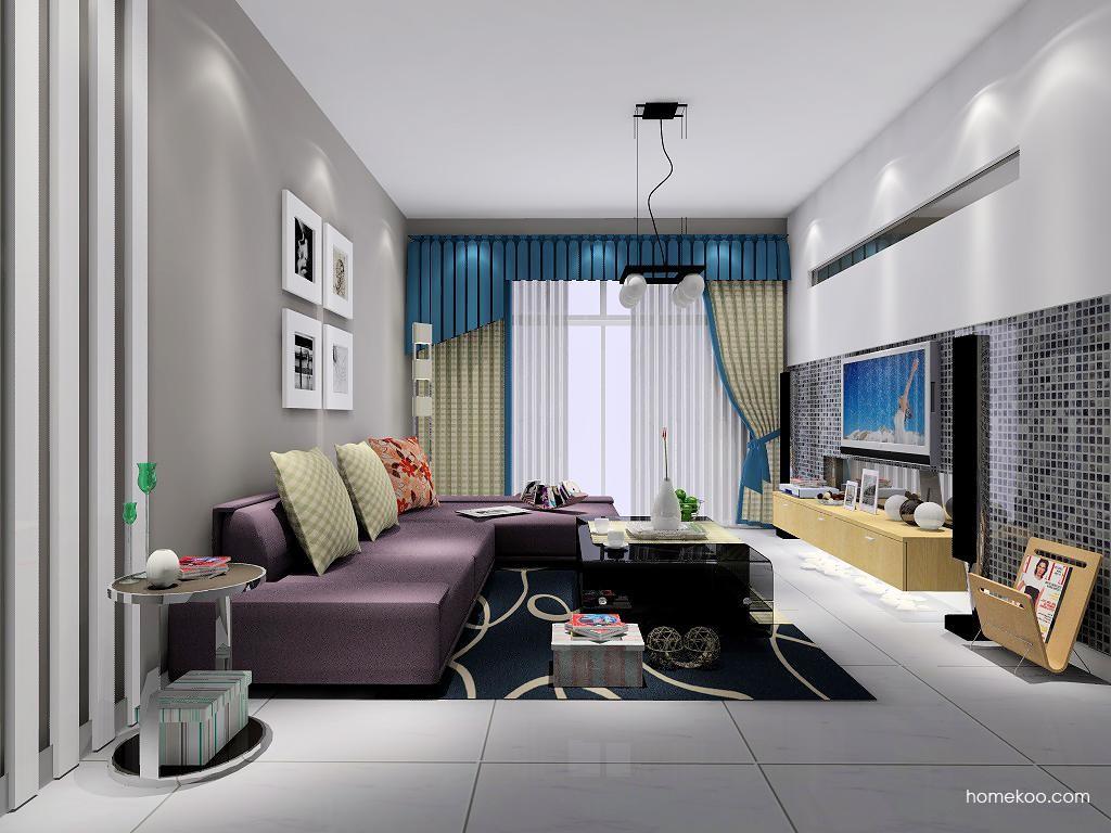 新实用主义客厅家具D6995