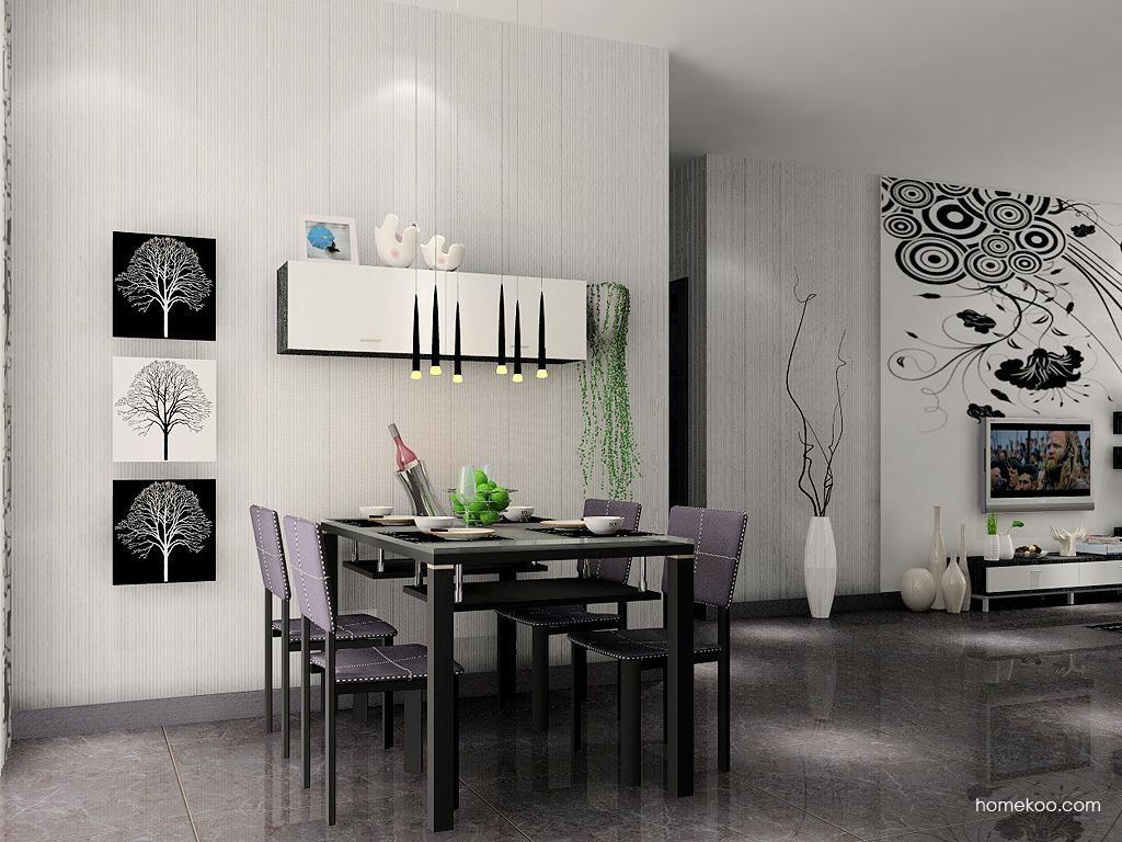 简约主义餐厅家具E1808