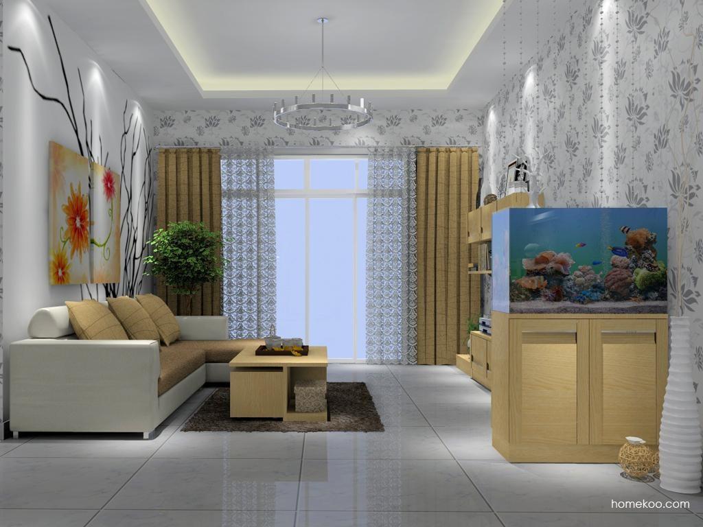 丹麦本色客厅家具D7003