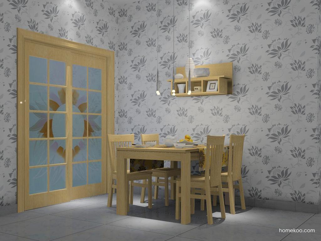 丹麦本色餐厅家具E1805