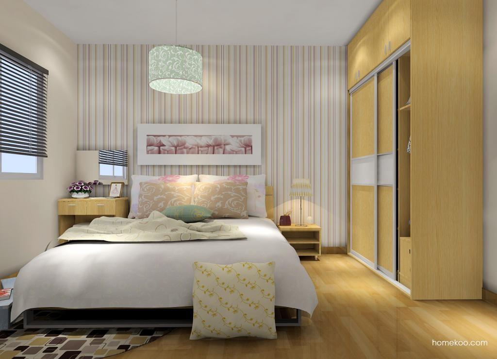 新实用主义卧房家具A7338