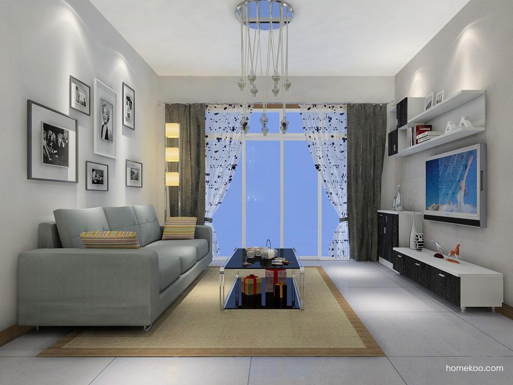 简约主义客厅家具D7017