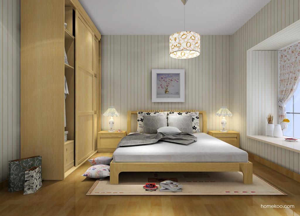丹麦本色卧房家具A7364