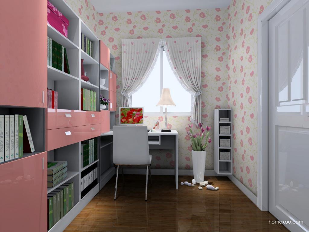 浪漫主义书房家具C4326