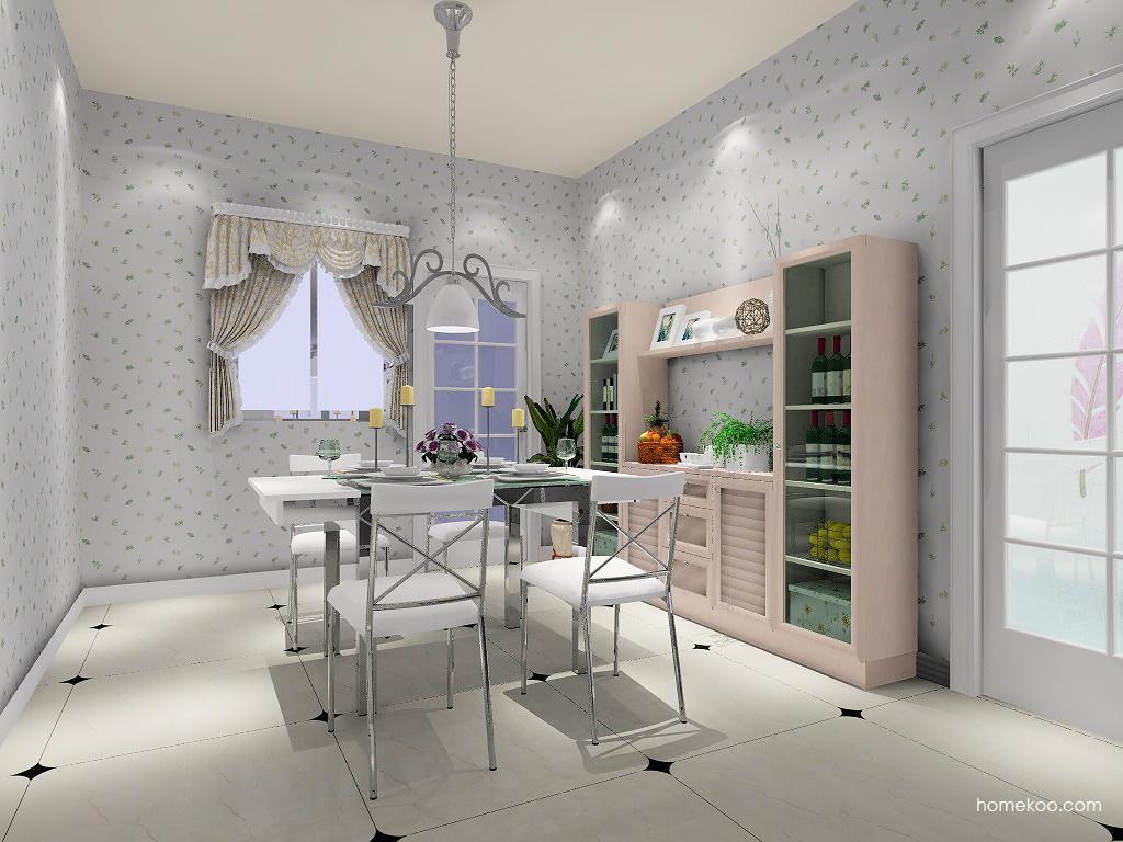 北欧阳光餐厅家具E1826
