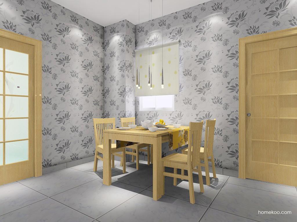 丹麦本色餐厅家具E1828