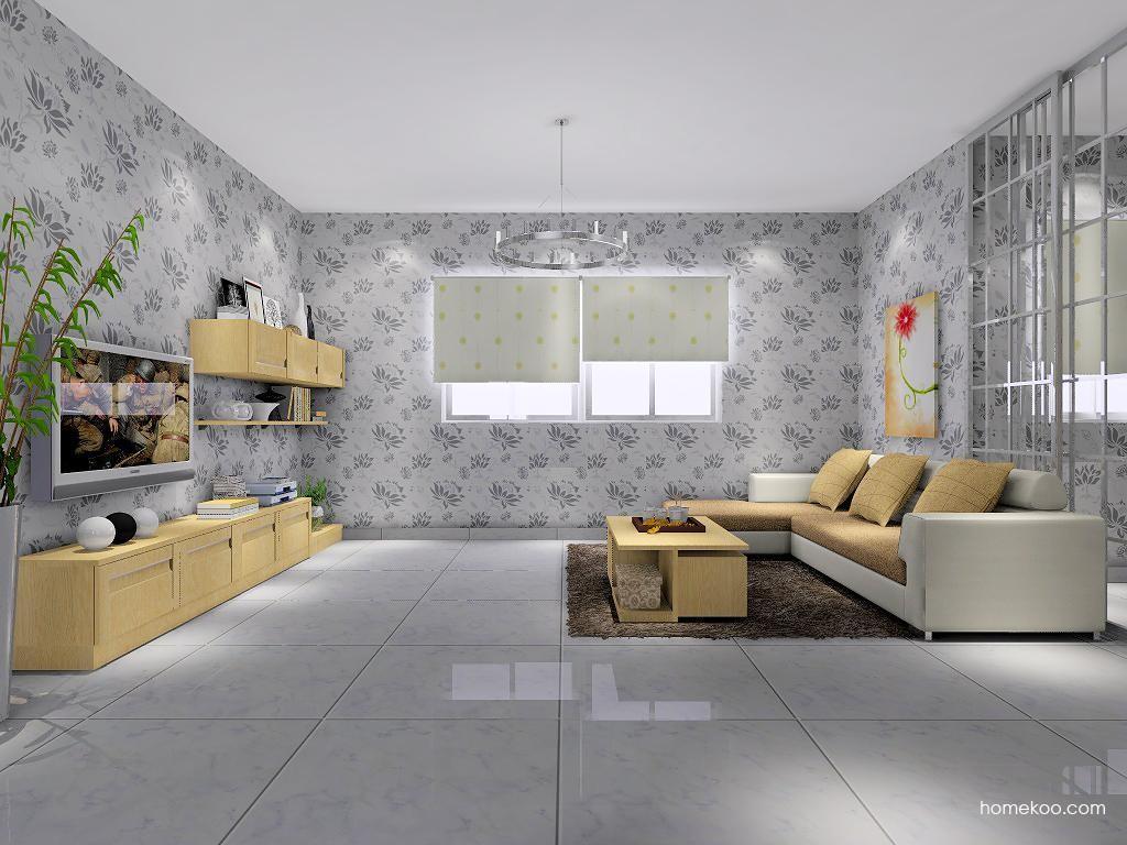 丹麦本色客厅家具D7026
