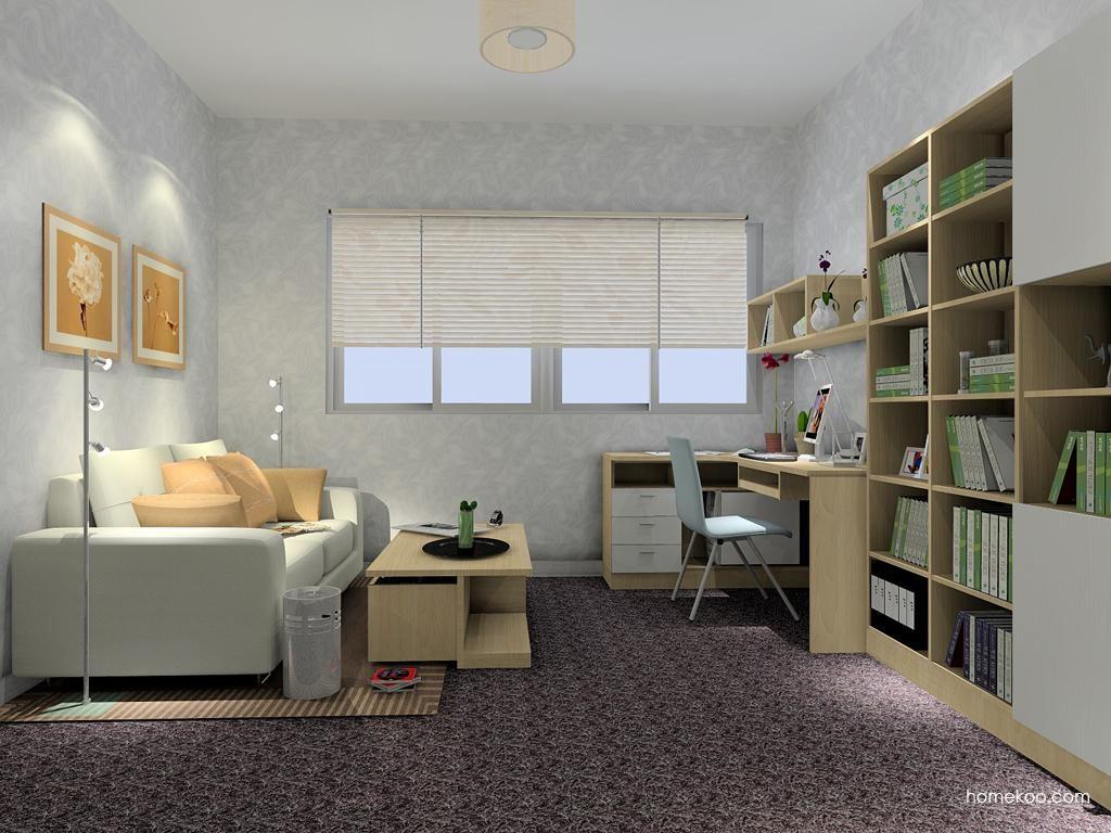 新实用主义书房家具C4333