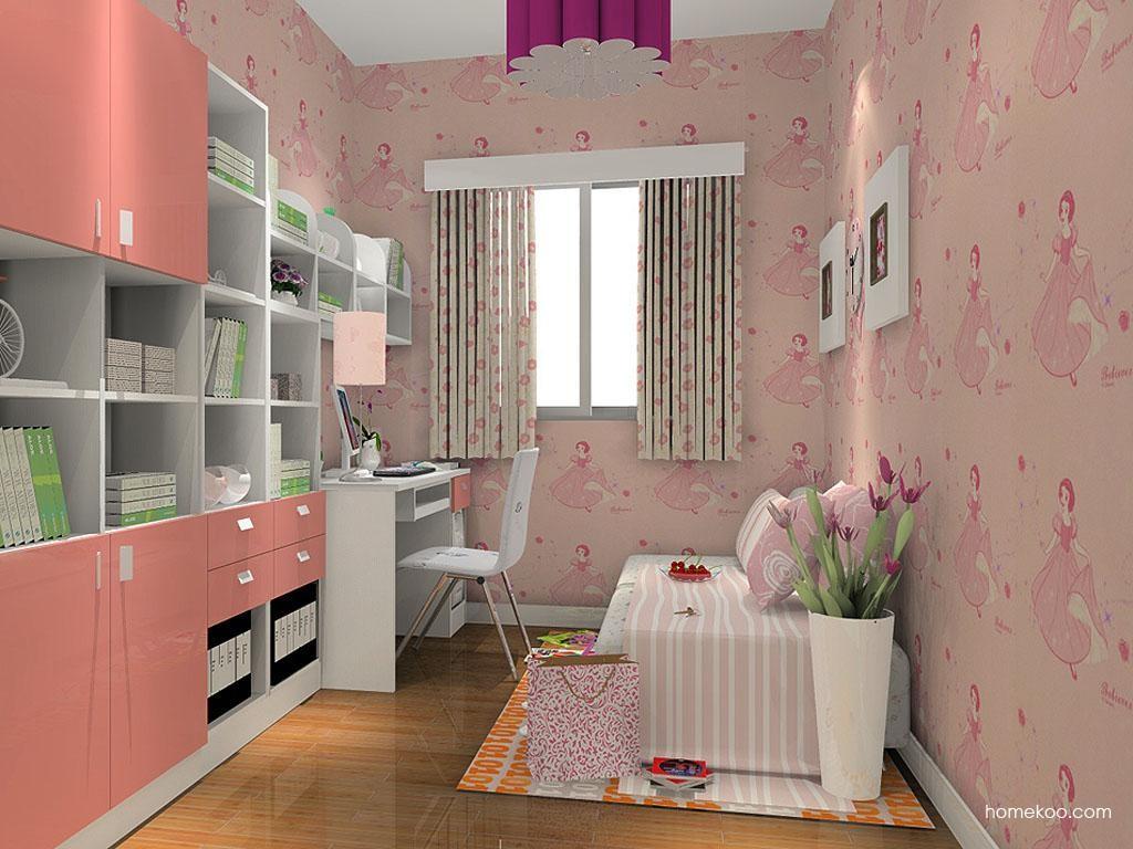 浪漫主义书房家具C4336