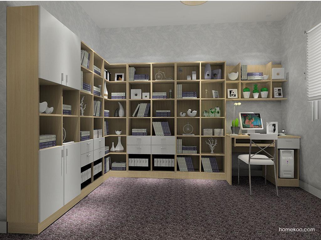 新实用主义书房家具C4338