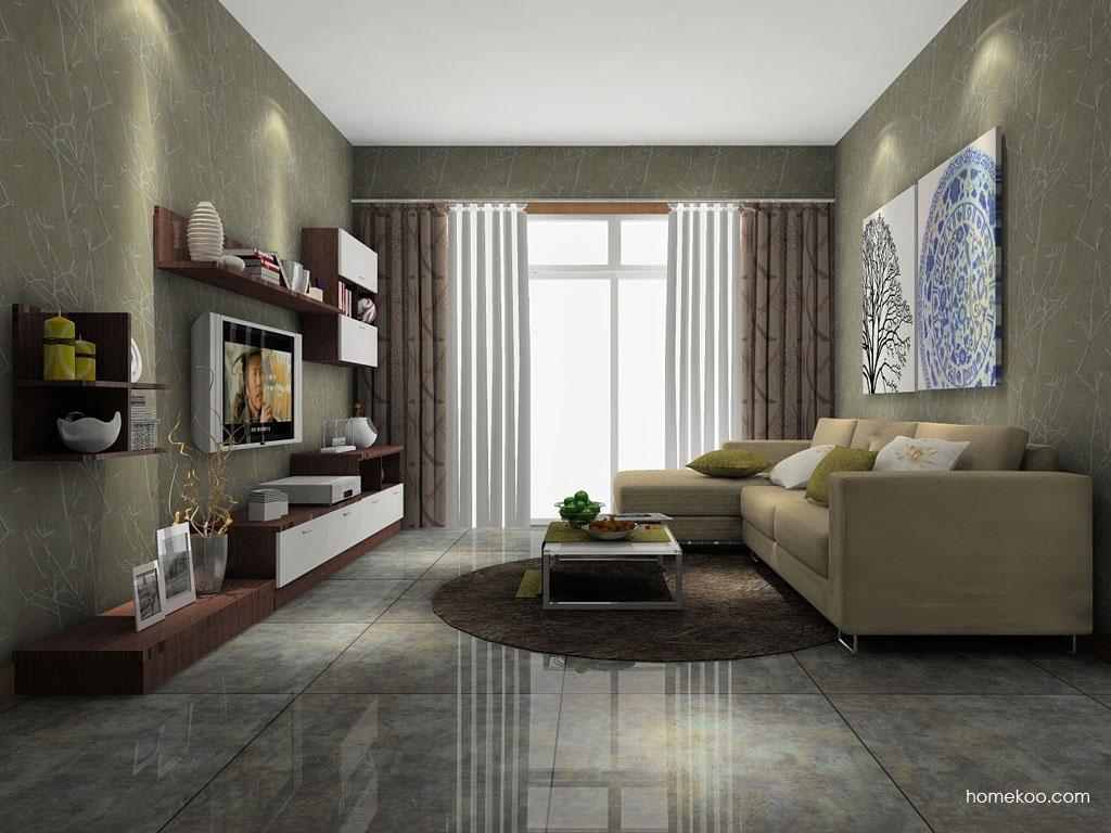 新实用主义客厅家具D7030
