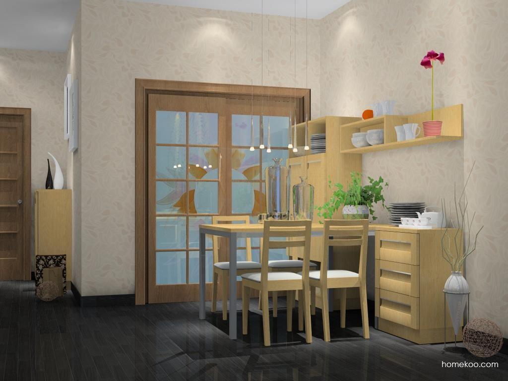 丹麦本色餐厅家具E1833