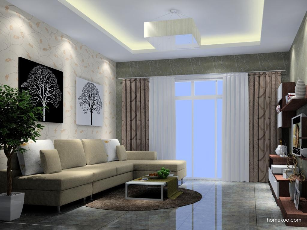 新实用主义客厅家具D7033