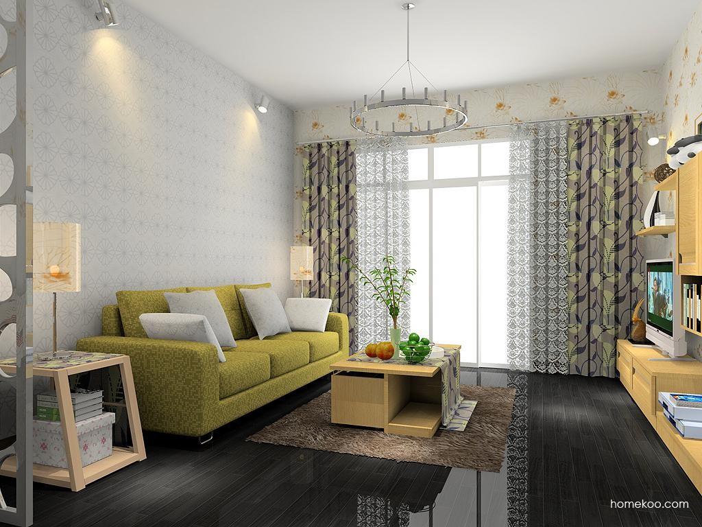 丹麦本色客厅家具D7049