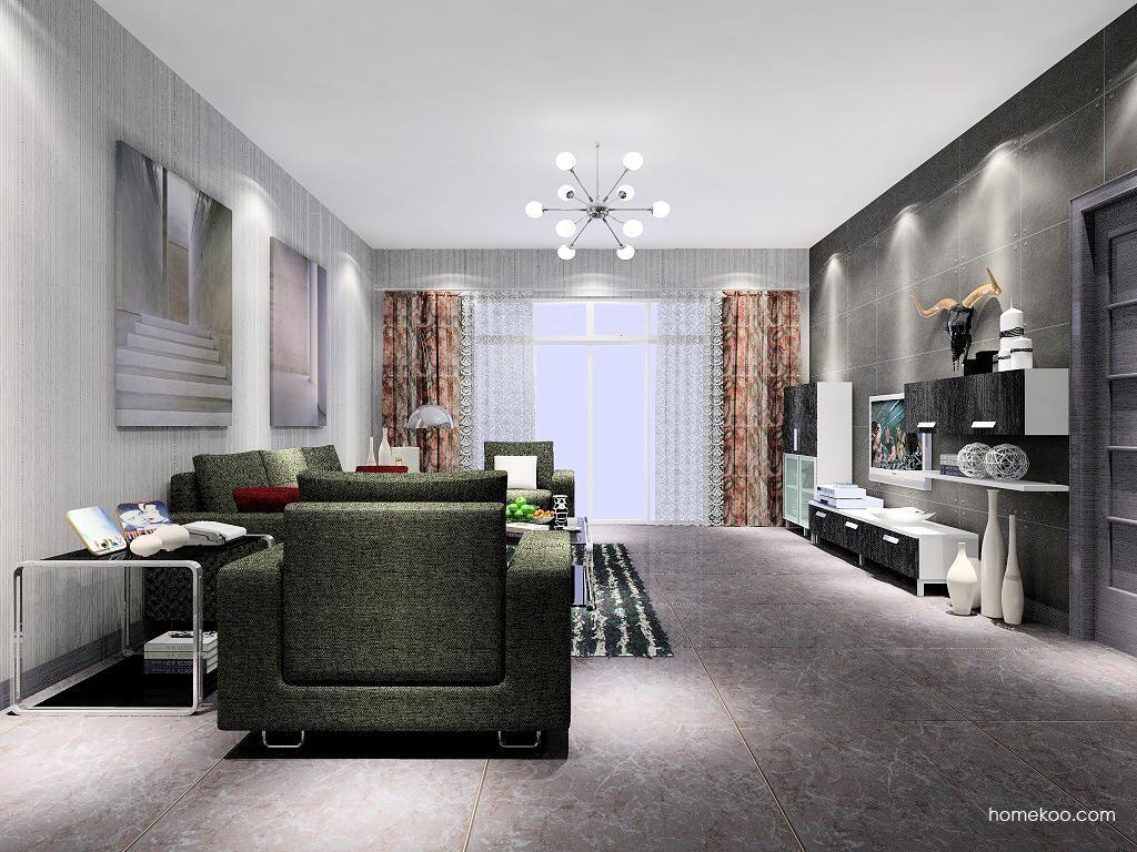 简约主义客厅家具D7055