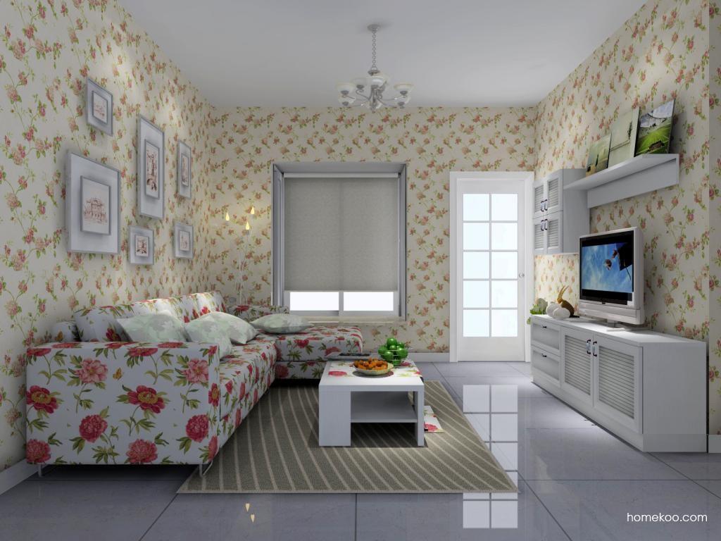 韩式田园客厅家具D7053