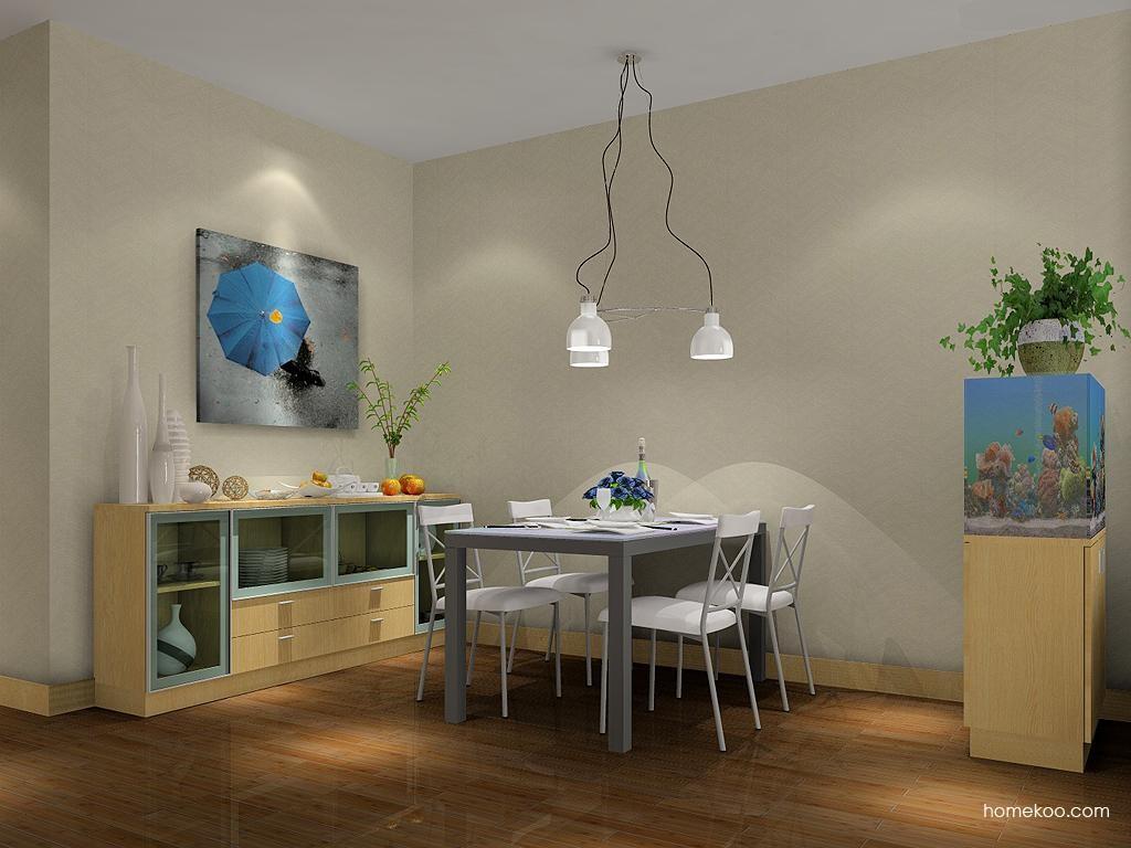 新实用主义餐厅家具E1865