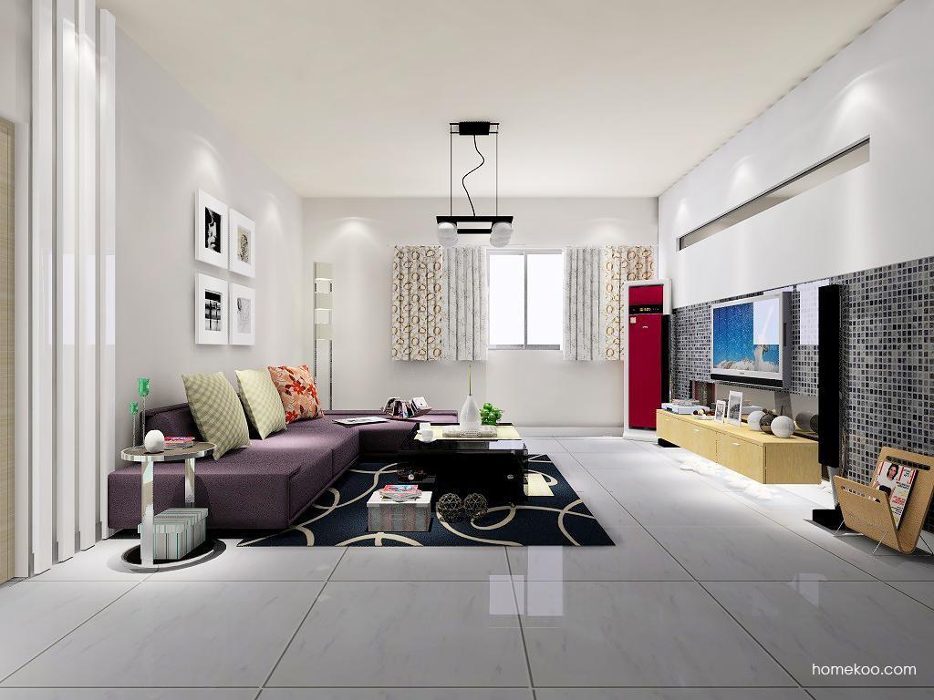 新实用主义客厅家具D7058