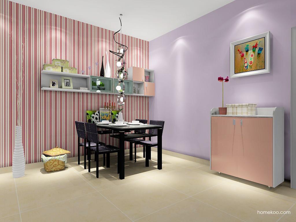 浪漫主义餐厅家具E1859