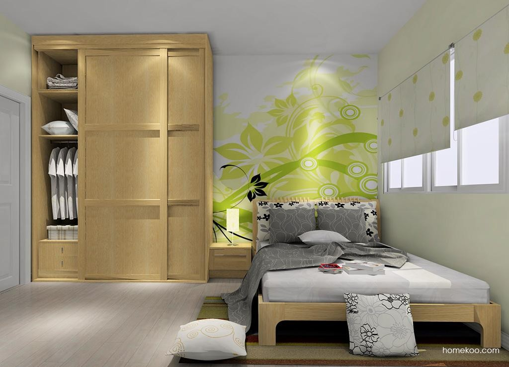 丹麦本色卧房家具A7408