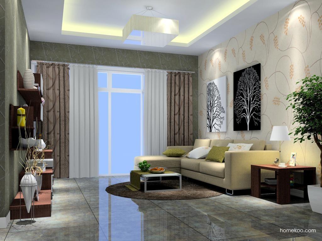 新实用主义客厅家具D7073