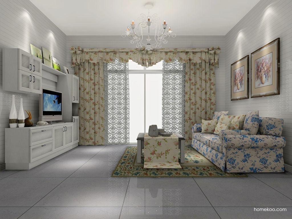 韩式田园客厅家具D7077