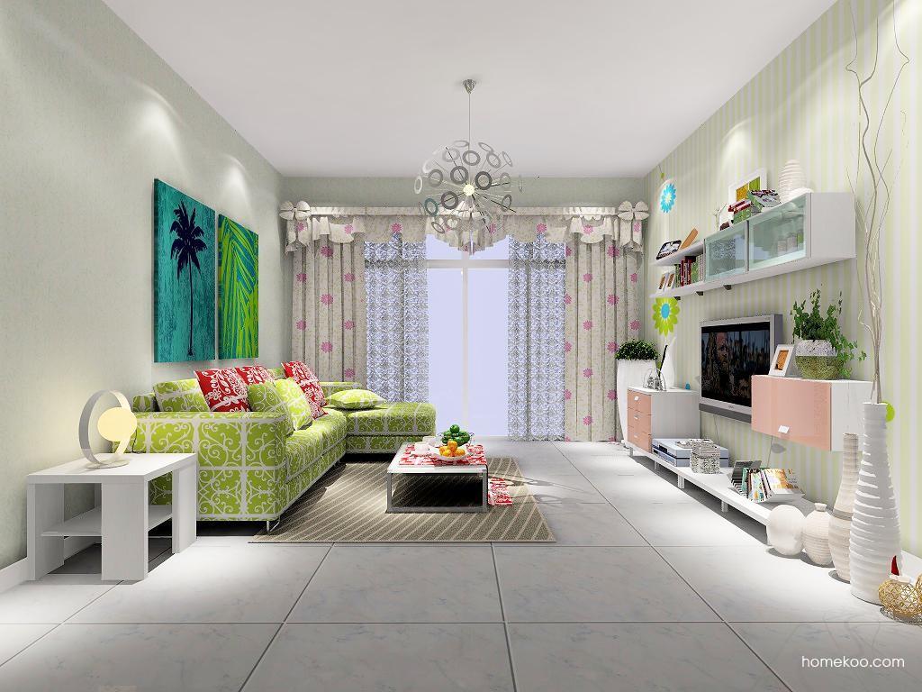 浪漫主义客厅家具D7069