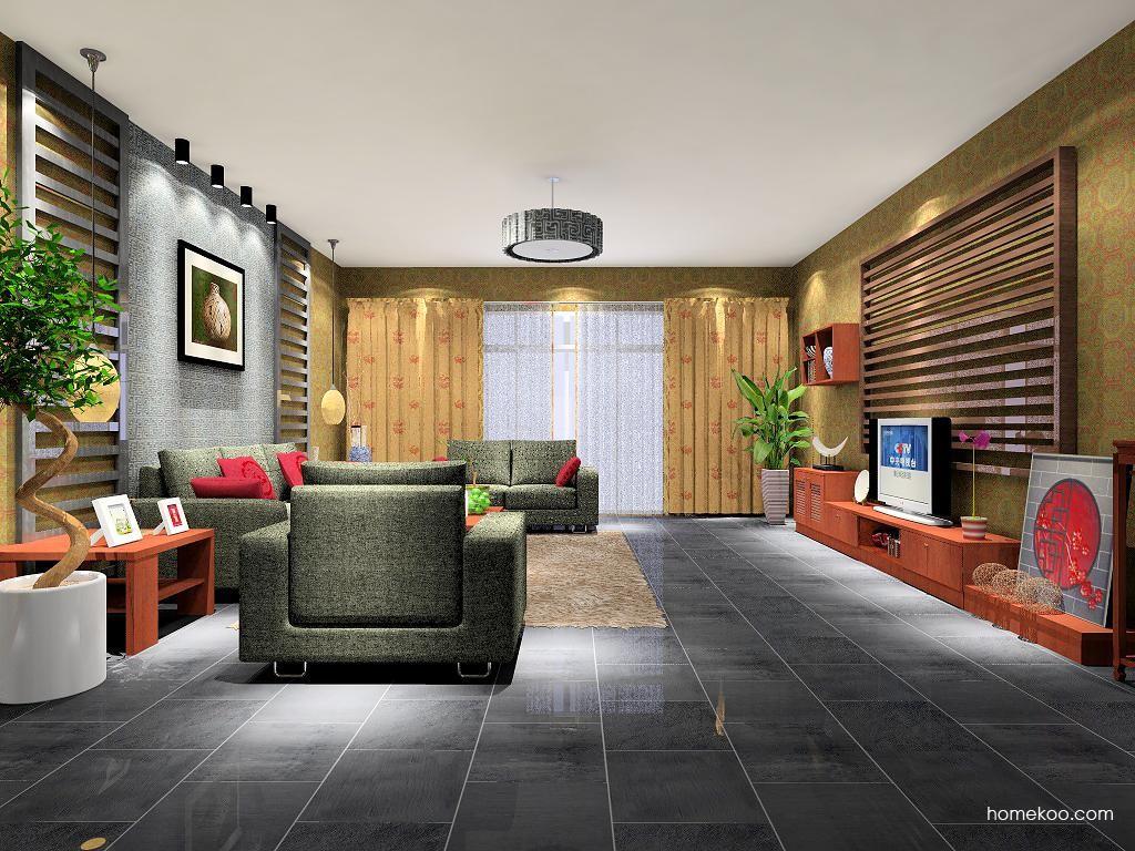 新中式主义客厅家具D7076