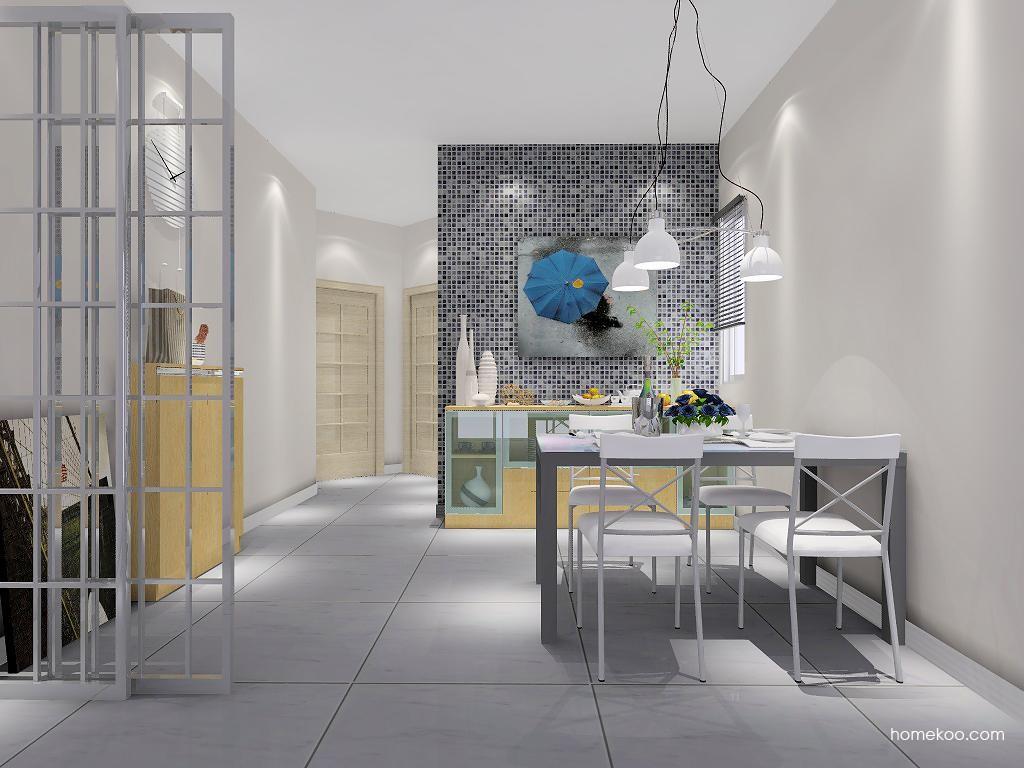 新实用主义餐厅家具E1880