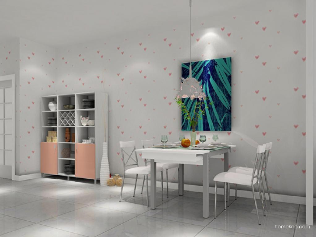 浪漫主义餐厅家具E1891