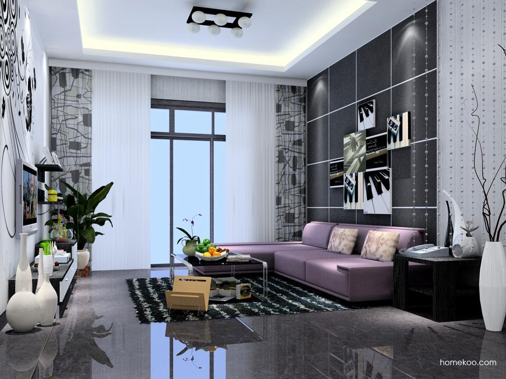 简约主义客厅家具D7081