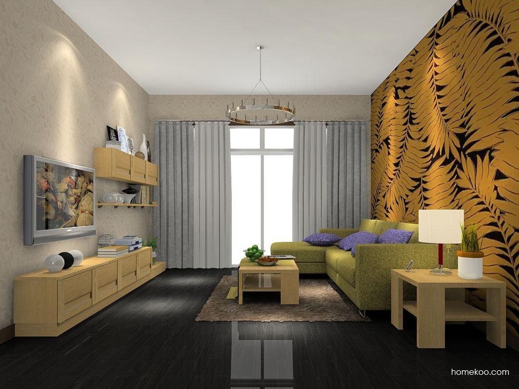 丹麦本色客厅家具D7083