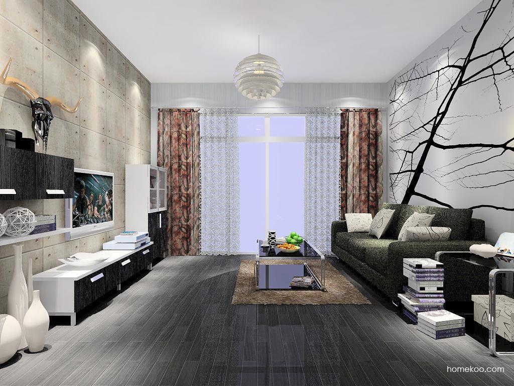 简约主义客厅家具D7097