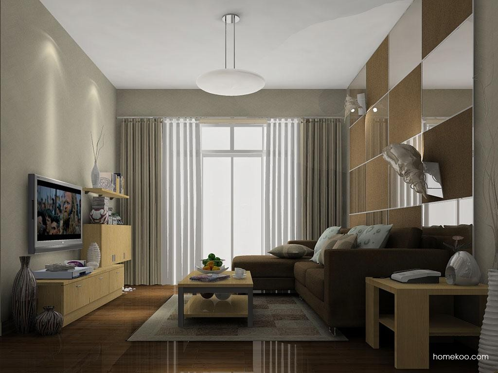 新实用主义客厅家具D7095