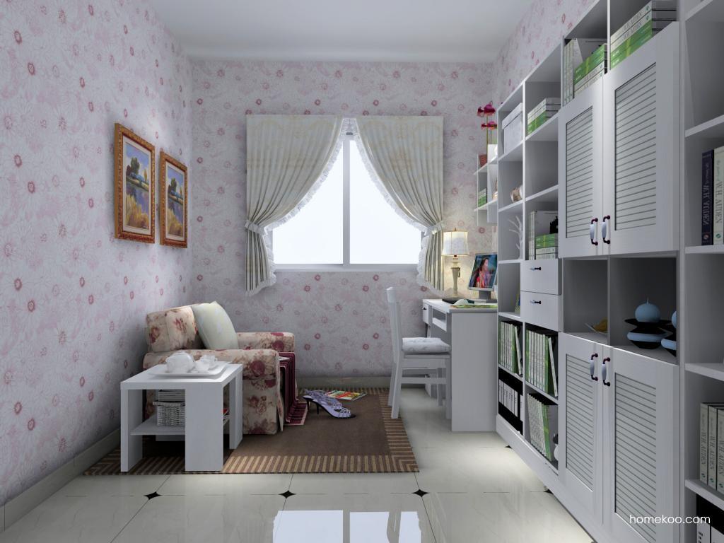 韩式田园书房家具C4392