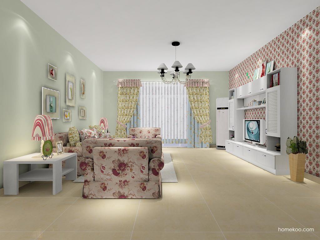 韩式田园客厅家具D7092