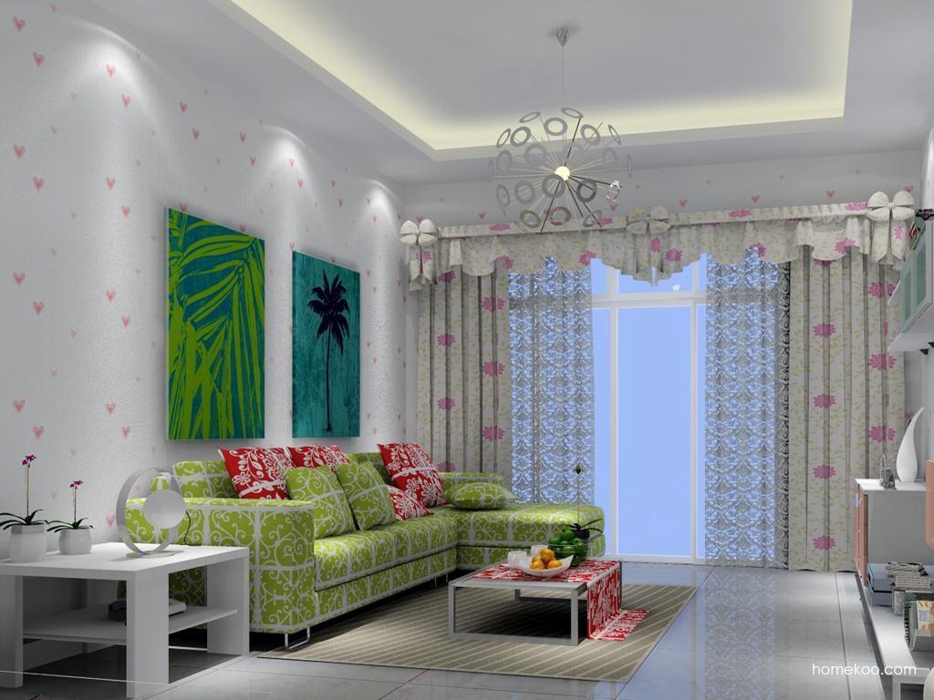 浪漫主义客厅家具D7107