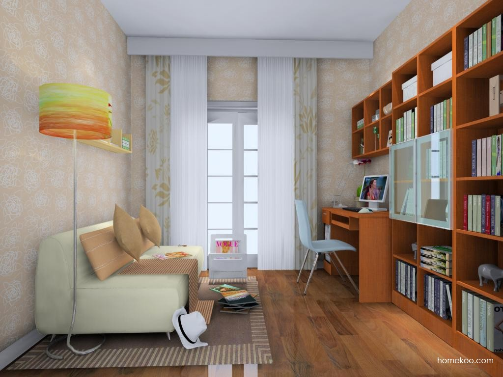 新实用主义书房家具C4416