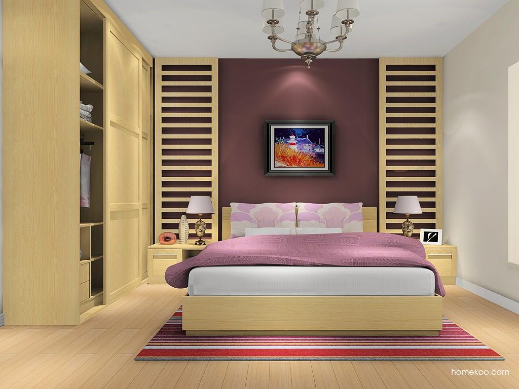 丹麦本色卧房家具A7502