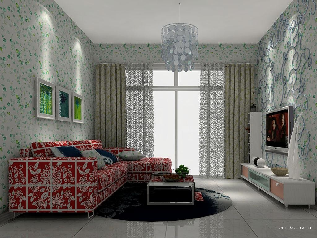 浪漫主义客厅家具D7111