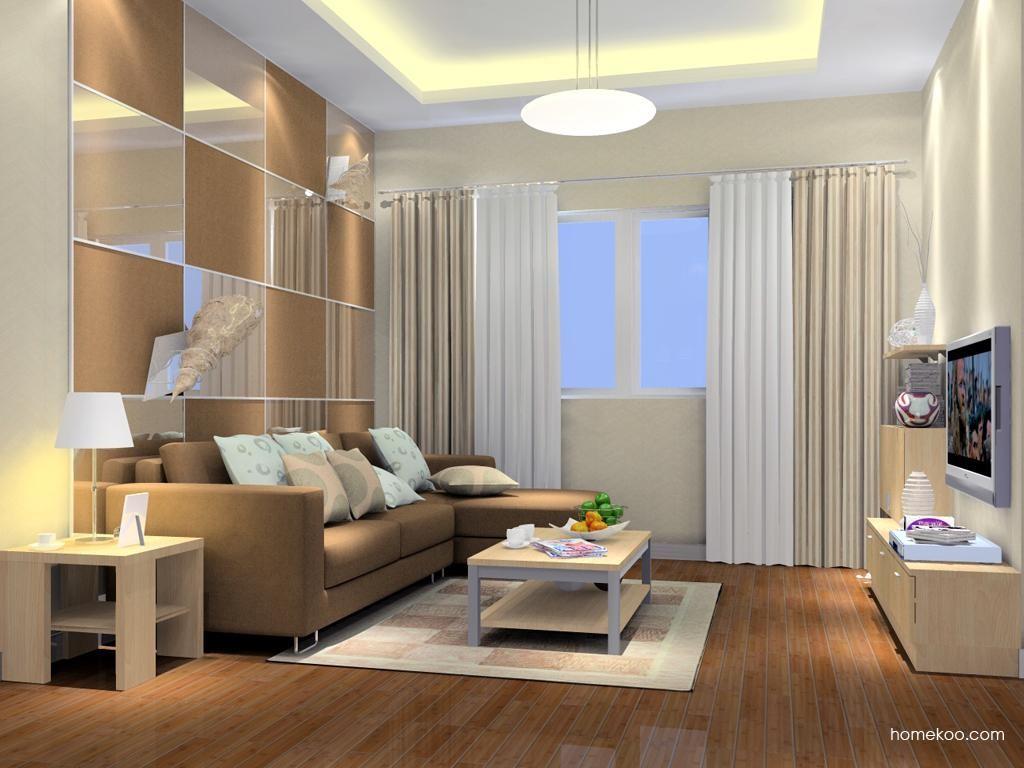 新实用主义客厅家具D7115