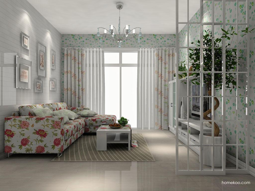 韩式田园客厅家具D7120