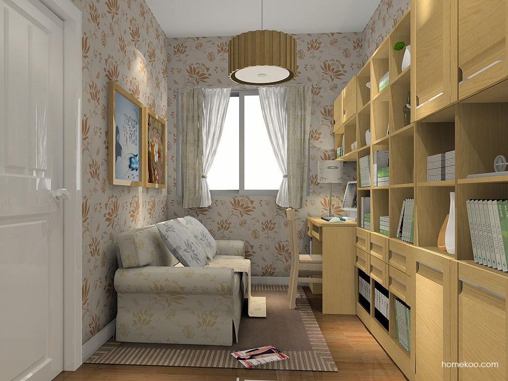 丹麦本色书房家具C4424