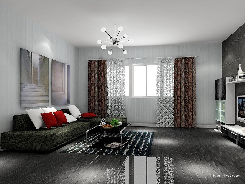 简约主义客厅家具D7121