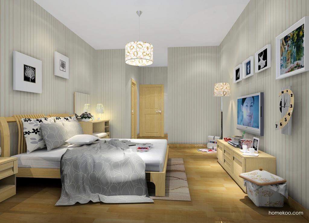 丹麦本色卧房家具A7535