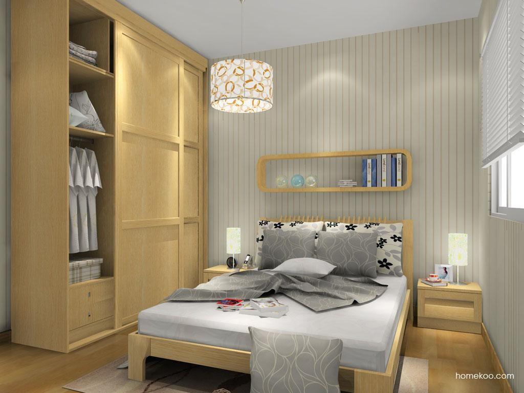 丹麦本色卧房家具A7519