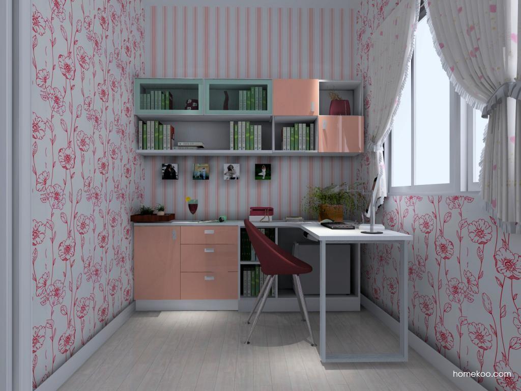 浪漫主义书房家具C4432