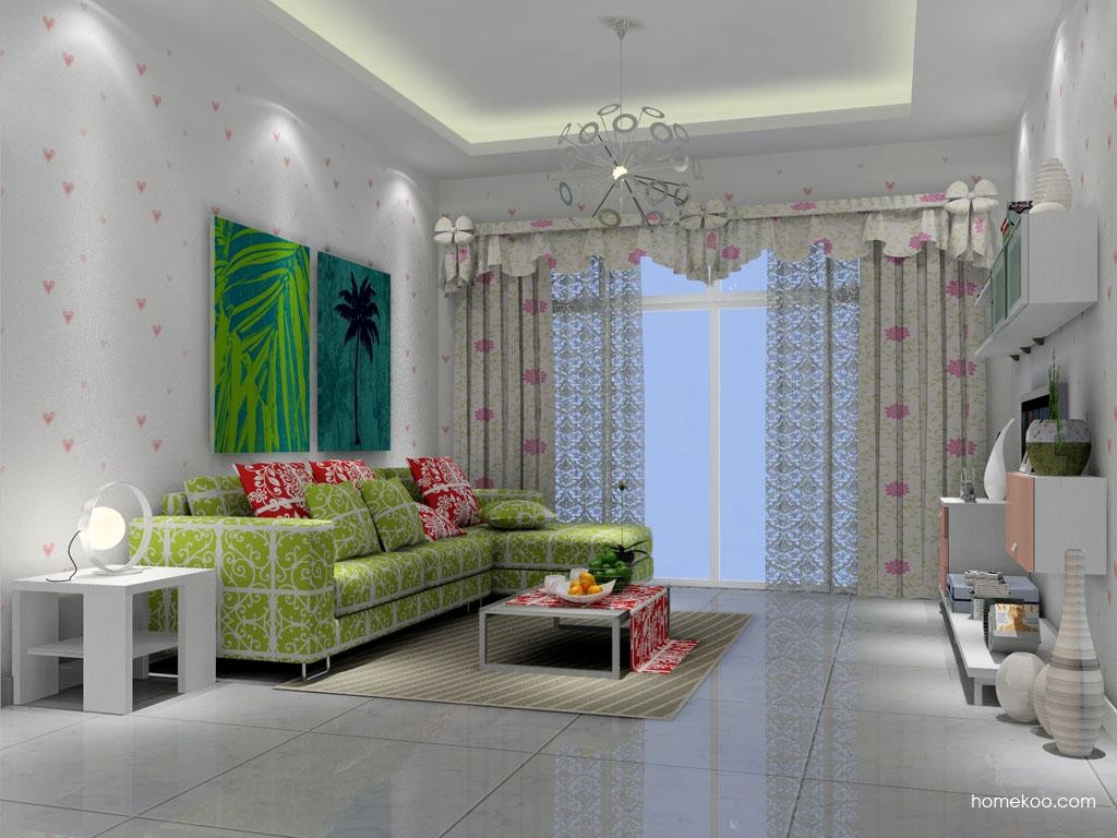 浪漫主义客厅家具D7133