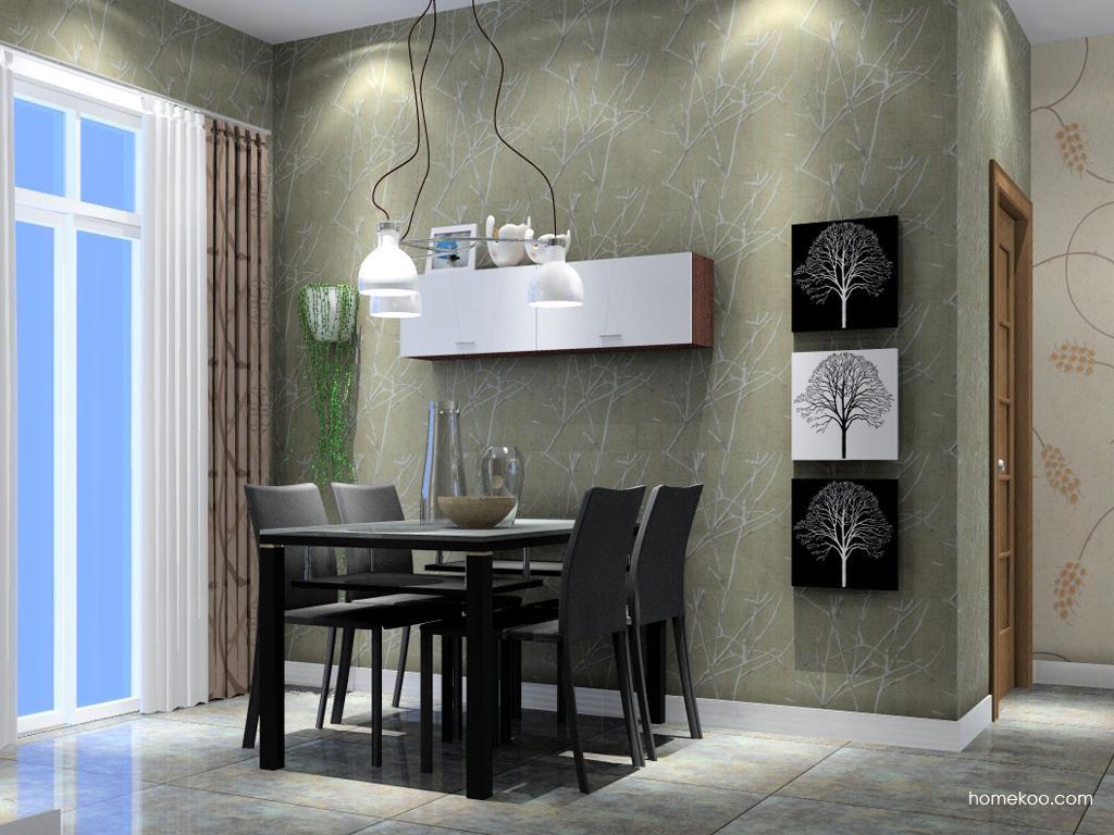 新实用主义餐厅家具E1942